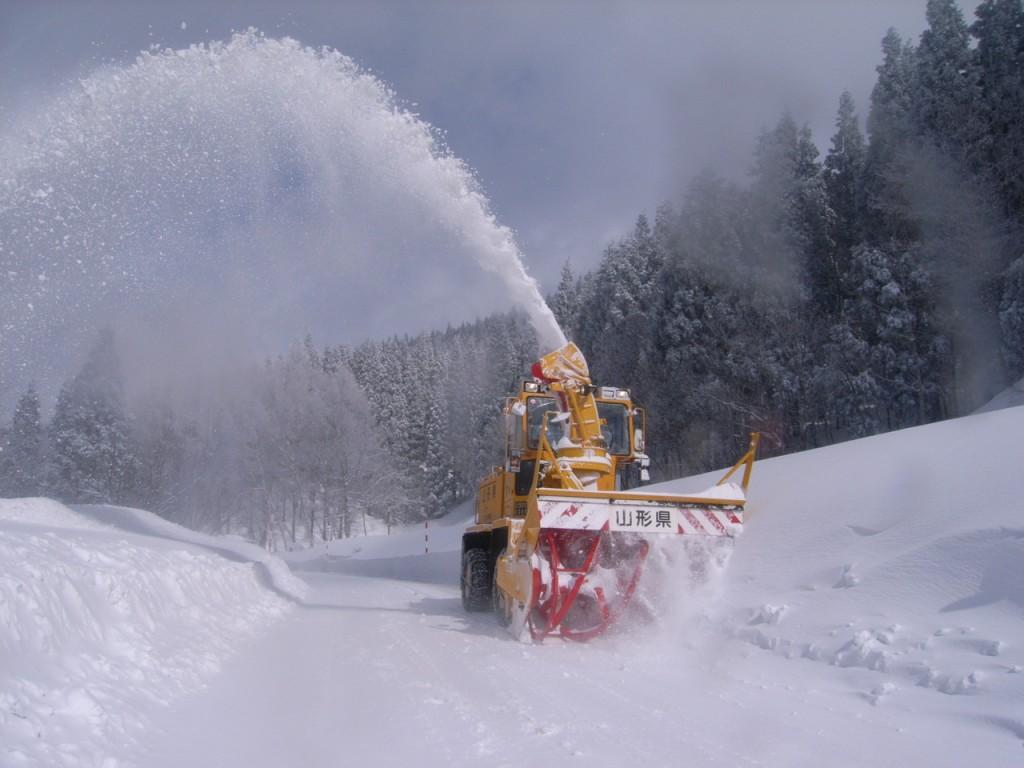 県道・ロータリー除雪作業